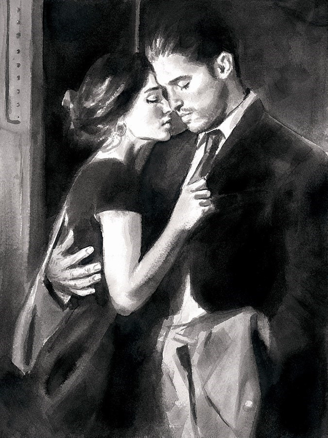 Image: The Train Station V by Fabian Perez | Limited Edition on Paper